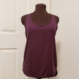Lululemon Plum Muscle Tee Tank Top